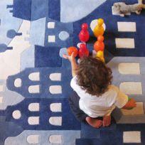 Art for kids - Tapis Amsterdam Kids Tapis Enfants par