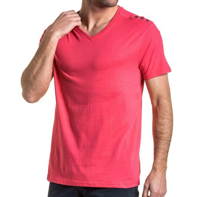 T Homme Shirt Acheter Rose Bouton dWQrExeCBo