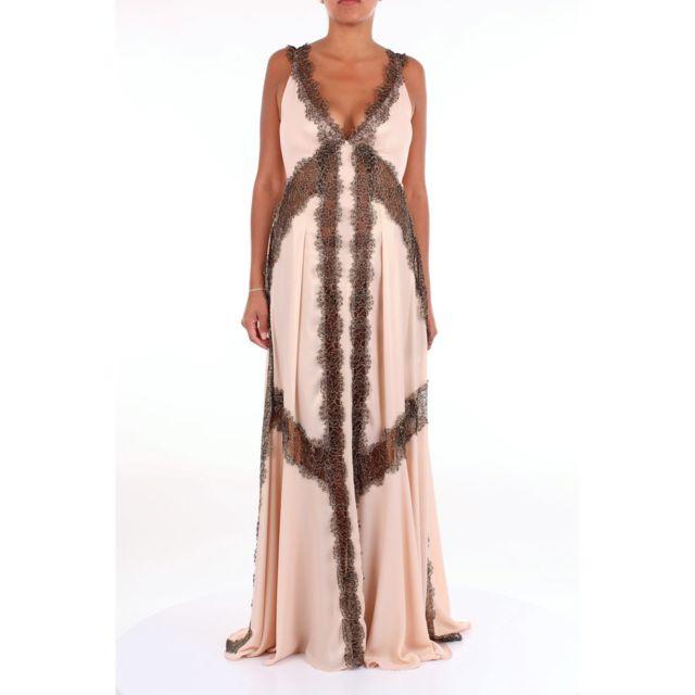 Babylon Femme Hs00879CIPRIA Rose Polyamide Robe