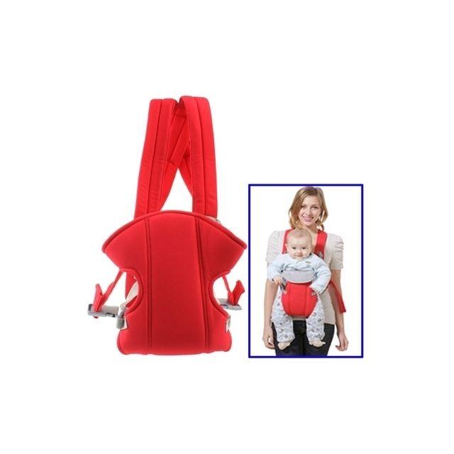 db559d78b2e Wewoo - Porte bébé rouge Sac à dos de transport de de sécurité de ...