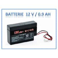 LBH - Batterie 12V rechargeable stationnaire 0.9 Ah 96x25x62