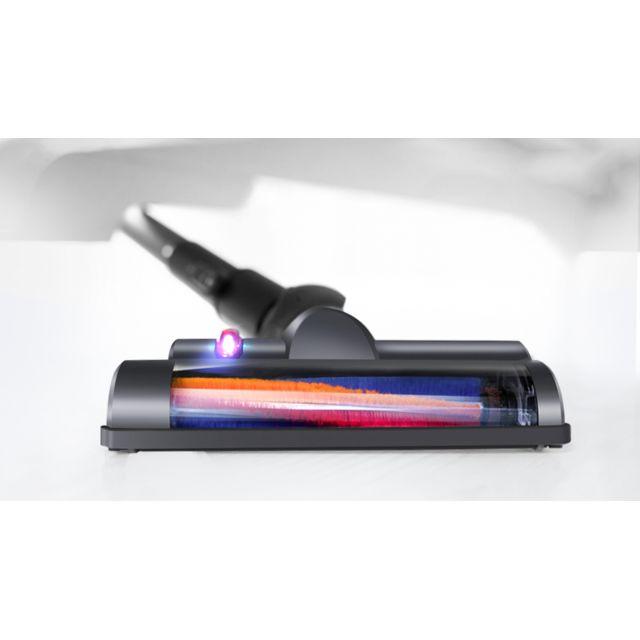 E-ZICLEAN Aspirateur balai 2 en 1 CYCLOMAX V2 Capacité de 0,6 litres - Puissance (W) : 140 W - Puissance (V) : 22,2 V - Nombre de vitesses : 1 - Décibels max. : 80 dB - Surface max. : 70m² - Autonomie : 30 minutes - Temps de charge : 3