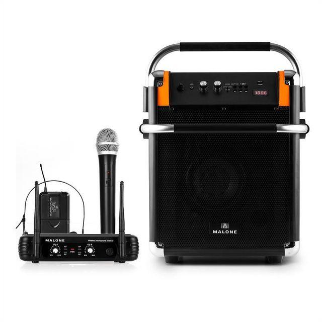 MALONE Rock Fortress Sono + Micro Headset sans fil UHF 250