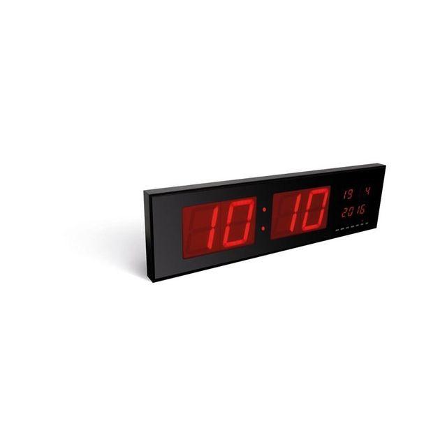 perel horloge murale affichage led pas cher achat vente accessoires hifi rueducommerce. Black Bedroom Furniture Sets. Home Design Ideas