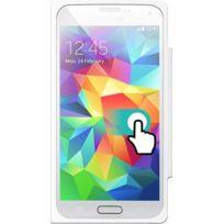 Colorblock - Etui à rabat tactile blanc pour Samsung Galaxy S5 G900