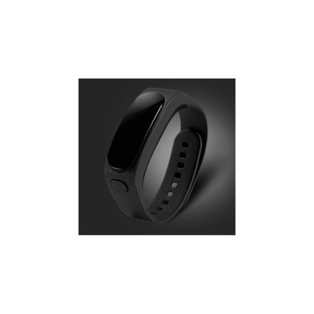 Auto-hightech Bracelet Bluetooth avec écran 0,91 pouces Oled pour sports - Noir