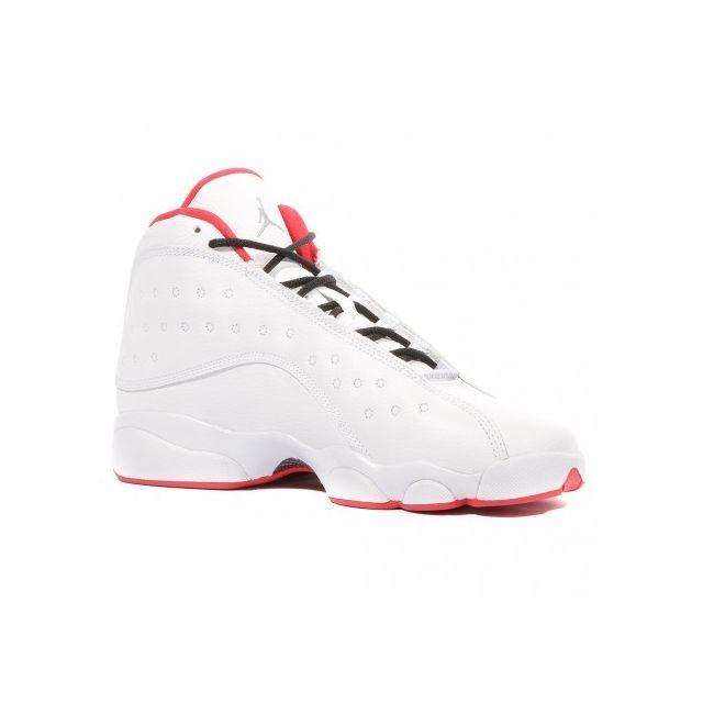 Nike Air Jordan 13 Retro Bg Garçon Chaussures Blanc Jordan