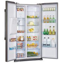 réfrigérateur américain 90.8cm 550l a+ no frost alu/inox - hrf-628if6