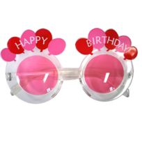 Funny fashion - Lunettes Happy Birthday Rose