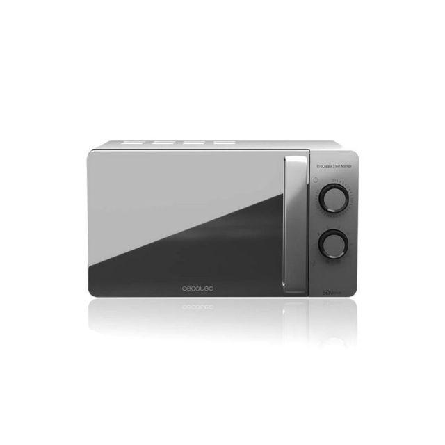 Cecotec Micro-ondes avec Gril ProClean 3160 20 L 700W Argenté