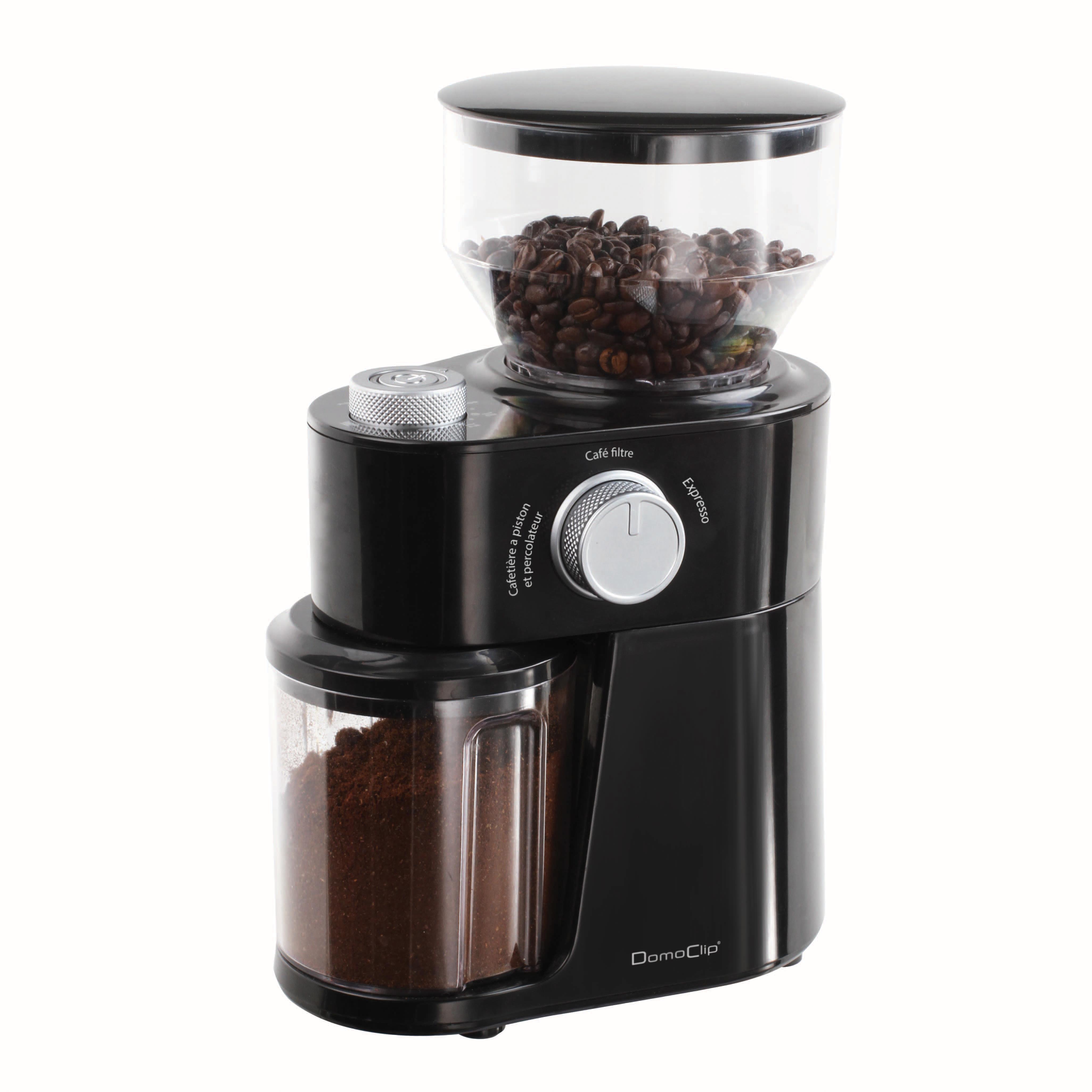 domoclip moulin caf lectrique dod158 pas cher. Black Bedroom Furniture Sets. Home Design Ideas