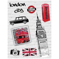 promobo planche lot 9 stickers mode dco londres big ben drapeau royaume uni