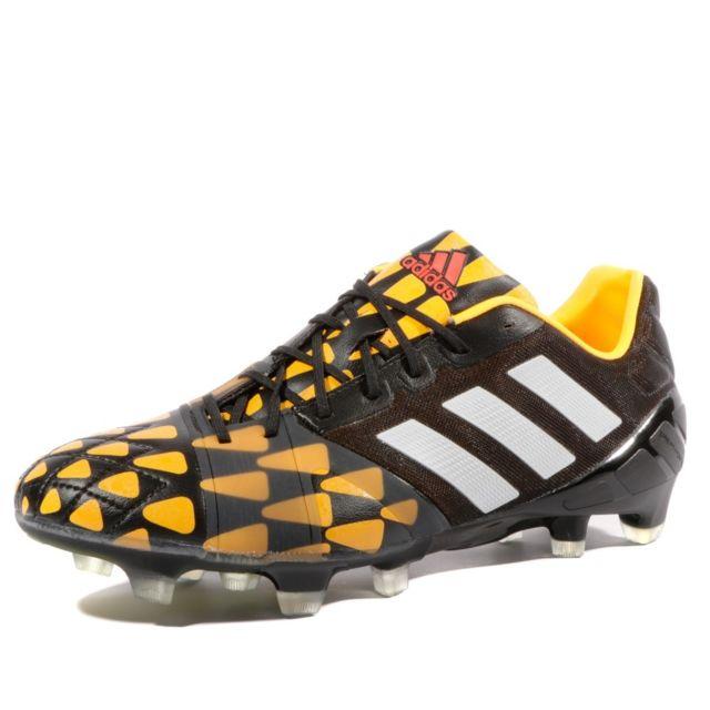 NITROCHARGE 1.0 FG BKO Chaussures Football Homme Noir 48