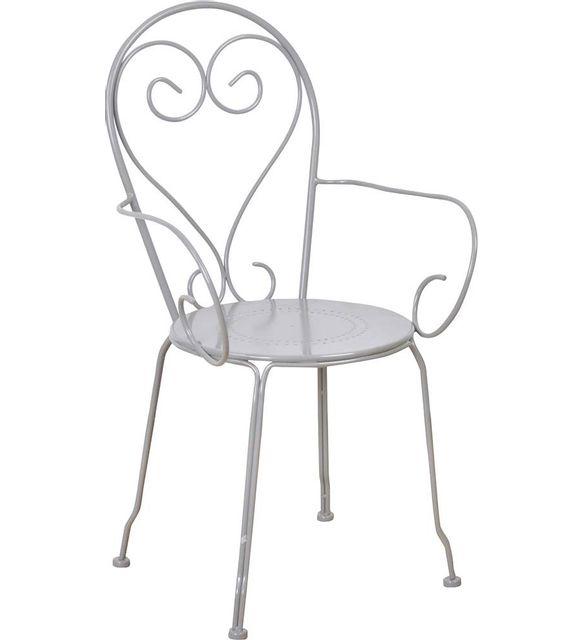 ESSCHERT DESIGN Chaise en métal Classique Lot de 2
