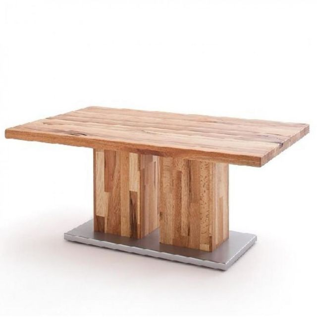 Inside 75 Table basse Tropea 120 x 50 cm chêne massif huilé