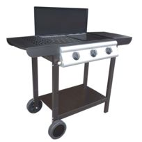 Mode De Vie - Barbecue à gaz 3 brûleurs Praya