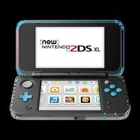 NINTENDO - New 2DS XL Noire et Turquoise