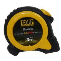 CORP - Mètre à ruban Max Grip Visio 2 magnétique 3 m x 16 mm - 43600816
