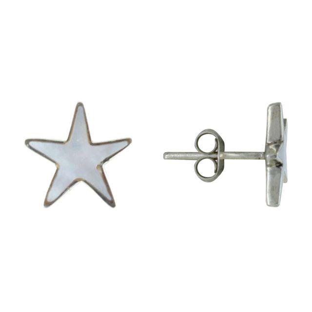 Boucles dOreilles Clou Argent et Perles de Culture 6.5-7 mm Classics Les Poulettes Bijoux