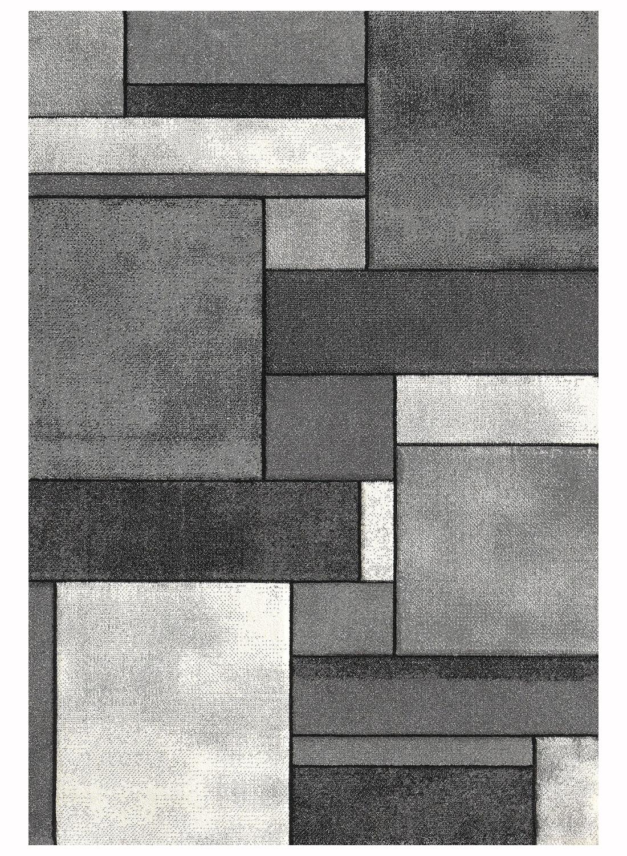 Tapis BRILLANCE 661 95 Tapis Moderne par Unamourdetapis gris 60 x 110 cm