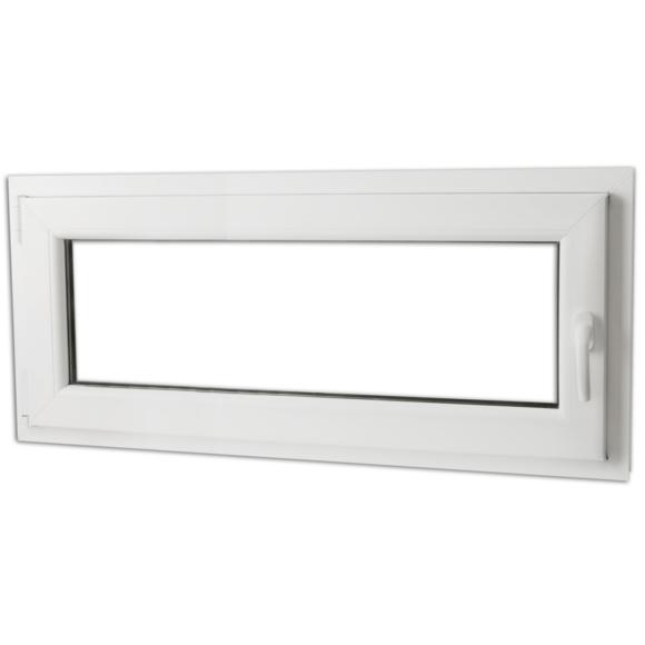 Rocambolesk - Superbe Fenêtre Pvc triple vitrage oscillo-battante poignée à droite 900x400mm neuf