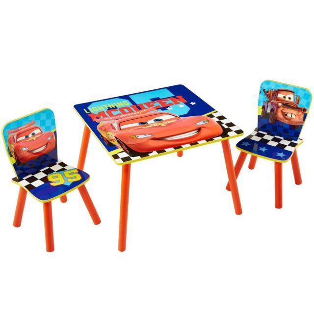 Worlds Apart Ensemble table et 2 chaises Cars Disney