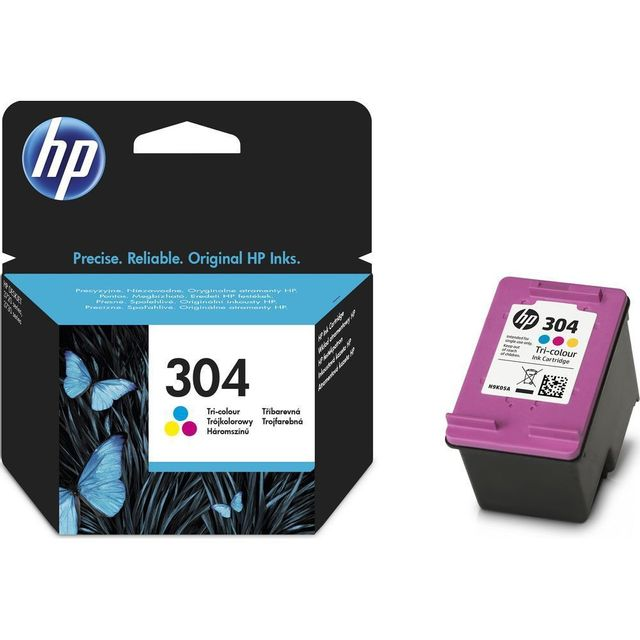 HP N9K05AE - Cartouche d'encre 304 - 3 couleurs