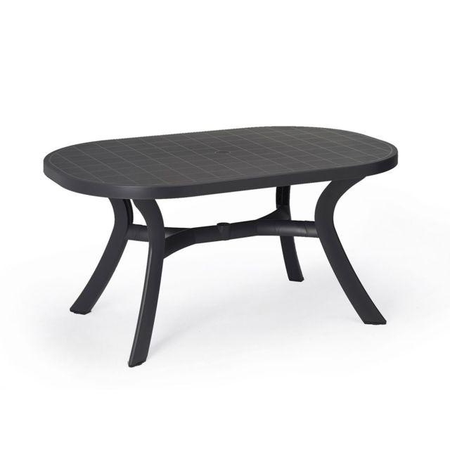 Table démontable ovale Toscana 95X145 par