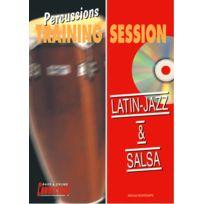 Play Music Publishing - Méthodes Et Pédagogie Bontemps Michel - Latin Jazz & Salsa + Cd - Percussions Percussion