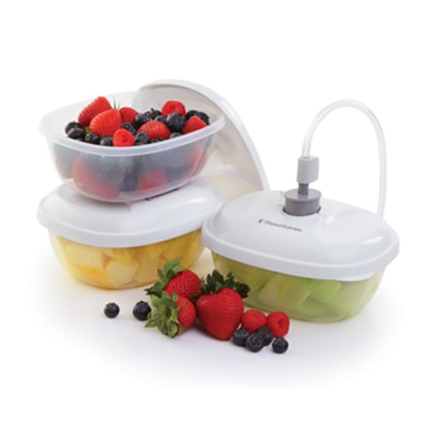 FOODSAVER lot de 3 boîtes alimentaires 0,50l pour appareil sous vide - t020-00024-i