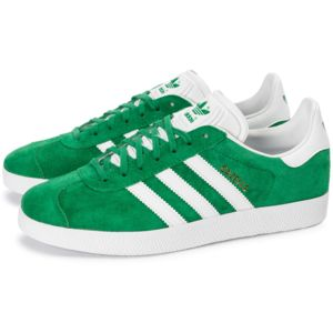 adidas originals gazelle verte pas cher achat vente baskets homme rueducommerce. Black Bedroom Furniture Sets. Home Design Ideas