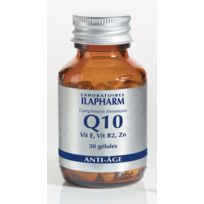 Ilapharm - Q10 - Anti-âge - Peau & cheveux - Programme recommandé de 90 jours 3 flacons