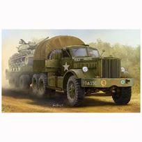 Meng Models - Maquette camion tracteur et porte char Us M19 cabine fermée