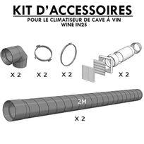 Winemaster - Kit d'accessoires pour climatiseur de cave à vin Wine In25