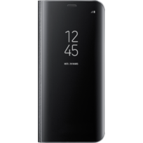 Clear View Fonction Stand Galaxy S8 - Noir