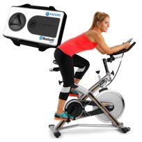BH Fitness - Vélo indoor Jet Bike Pro X Wh9162RF. Xkit inclut. Volant inertie 22 Kg