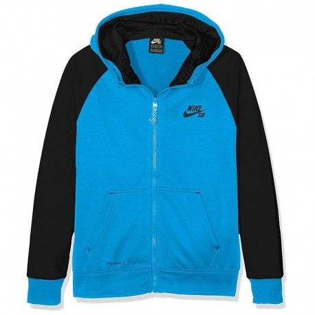 Nike Veste Solid Therma Fit Bleu Garçon Multicolore 12