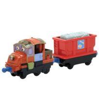 Chuggington - Die-Cast Coffret Hodge et le Wagon de Chargement 2 Véhicules Miniatures 6cm