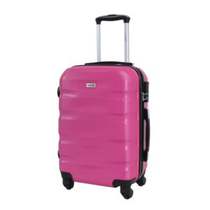 """Alistair - Valise cabine 55cm - """"Fly"""" - Abs Ultra Légère - 4 Roues Fuxia"""