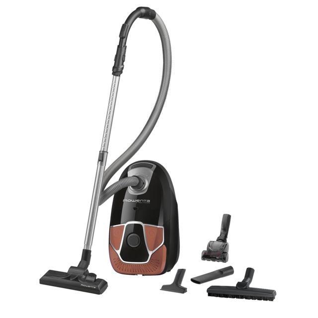 ROWENTA Aspirateur avec sac X-trem Power - RO6844EA - Noir/Orange