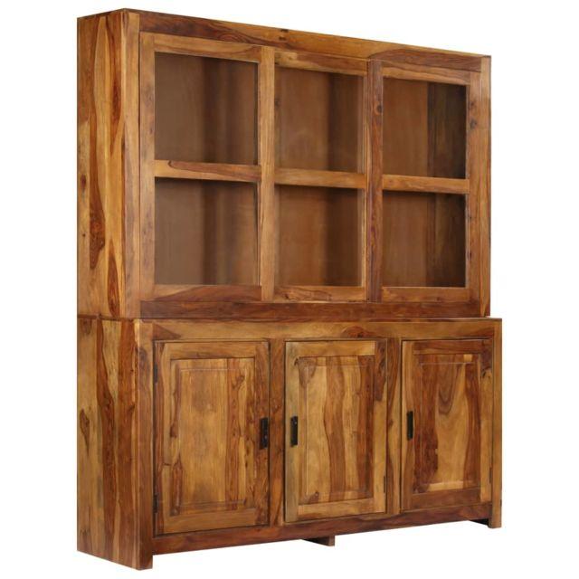 Armoires et meubles de rangement edition Alger Buffet Bois solide de Sesham  180x45x200 cm