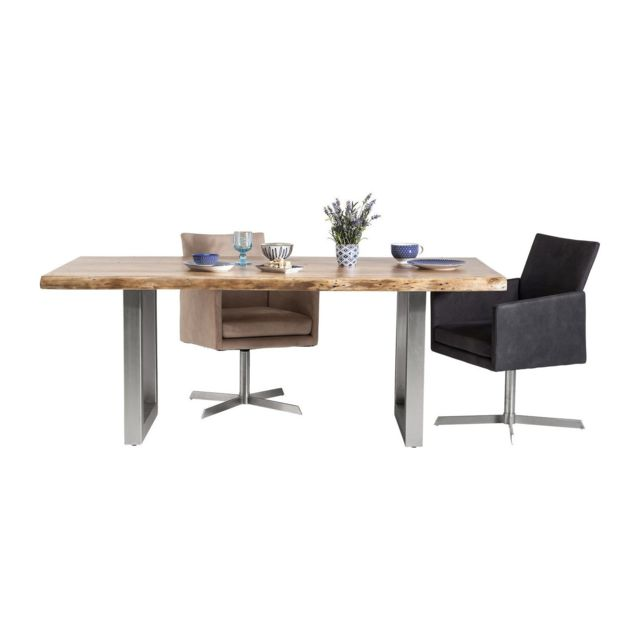 Karedesign Table en bois Nature Line 195x100cm Kare Design