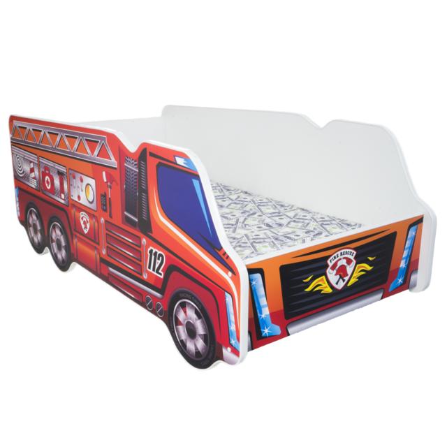Other Lit pour un enfant Truck - Pompiers MATELAS Gratuit 140 x 70 cm