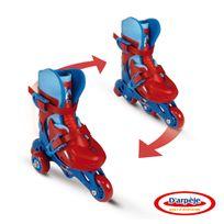DarpÈJE - Rollers inline 2 en 1 3 roues