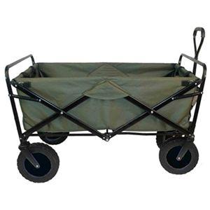 Ak sport 0737003 remorque chariot pliable vert pas cher achat vente chevaux - Chariot de plage pliable ...