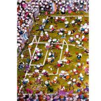 Heye - Puzzle 1000 pièces - Mordillo : Foot de dingues