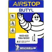 Michelin - Chambre a air type A1 modele Airstop butyl dimensions 700 18/25 valve presta 52mm
