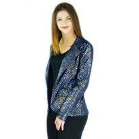 Jennessys - Veste blazer brillante made in France fabrication France