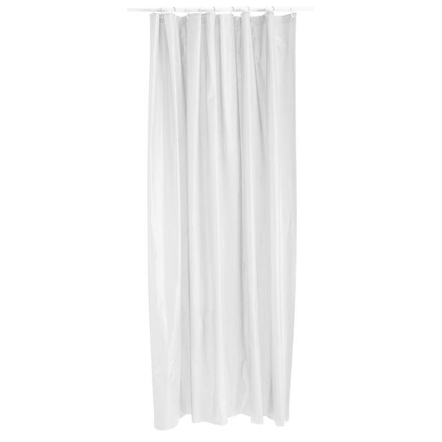 Rideau douche blanc 120x200 cm