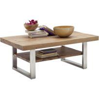 table basse acier brosse - Achat table basse acier brosse pas cher ...